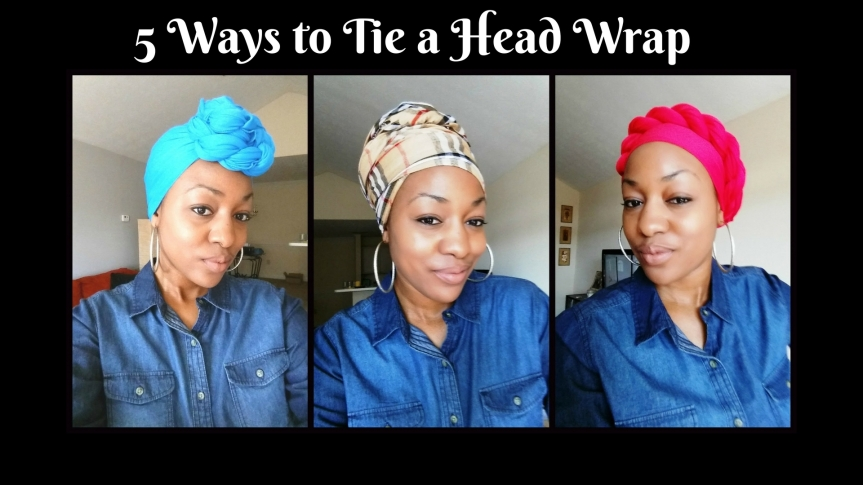 Try These Head Wrap Styles