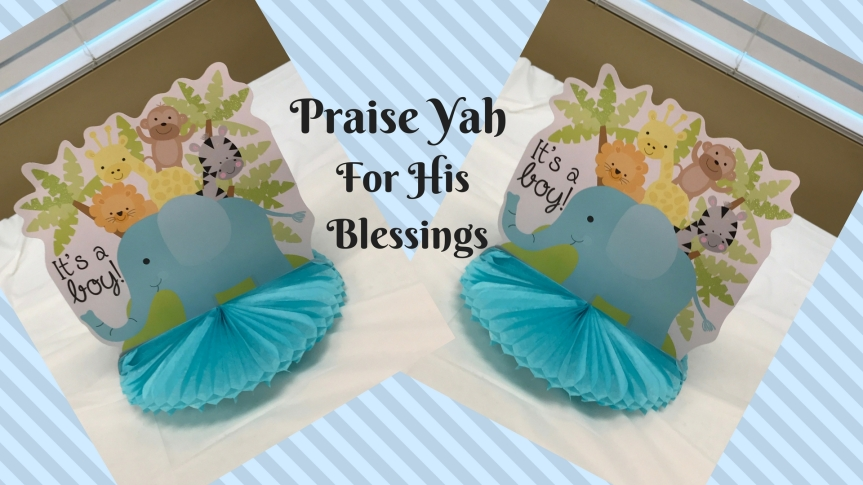 Blessings Come From OnHigh…